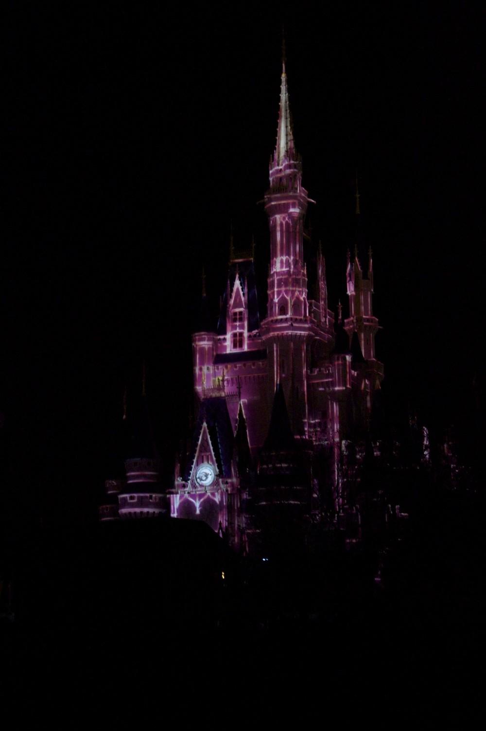 Castle projection